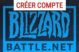 Créer un compte Blizzard