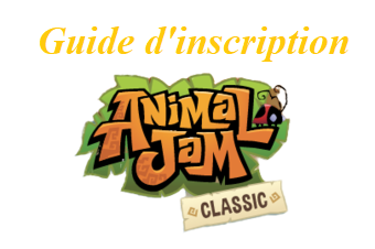 Créer un compte Animal Jam Classic