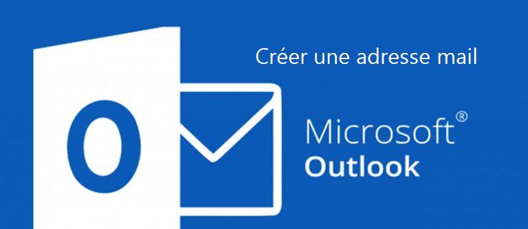 créer une nouvelle adresse de messagerie Outlook gratuitement