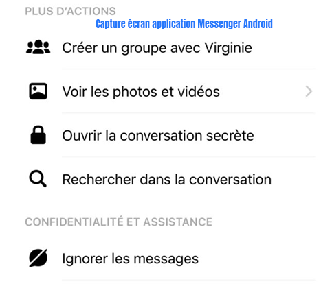 comment activer une discussion secrete facebook messenger
