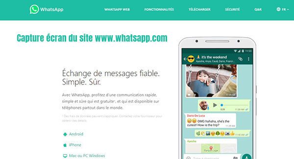 application messagerie instantanee