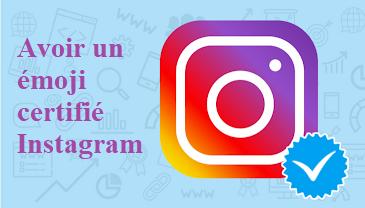 émoji certifié Instagram