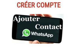 comment ajouter contact whatsapp