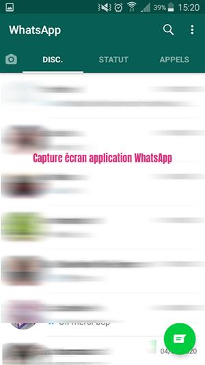 application messagerie instantanee whatsapp