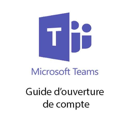 Créer un compte teams
