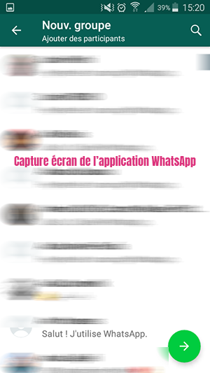 creer groupe whatsapp