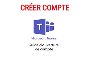Ouvrir un compte microsoft teams