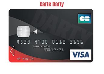 carte visa darty