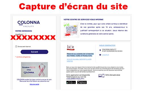 Ouvrir un compte colonna facility sur www.cofacility.fr