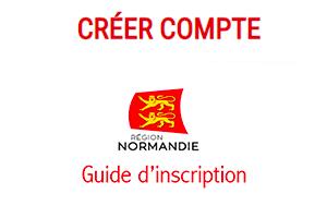 S'inscrire sur nomad.normandie.fr