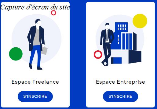créer un compte freelance