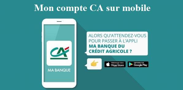sudrhonealpes fr crédit agricole ligne sur mobile