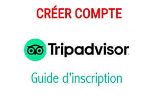 Inscription tripadvisor