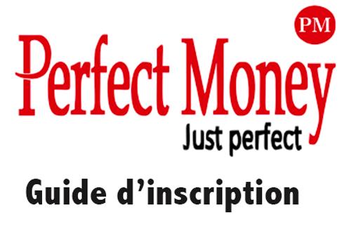 Perfect money inscription