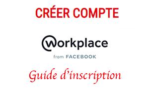 S'inscrire sur workplace facebook
