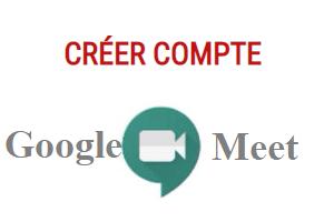 créer une réunion Google Meet