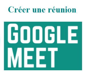 créer une visioconférence Google Meet sur PC