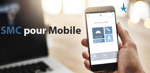 smc net particulier sur mobile