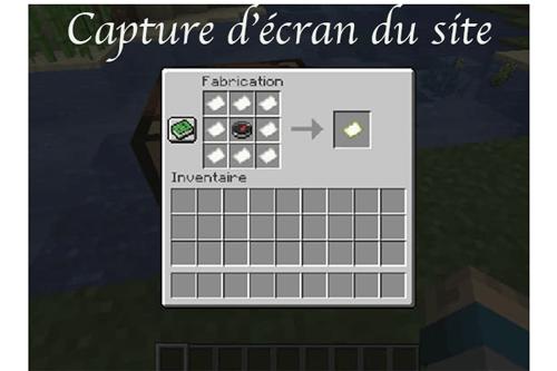 Créer une carte minecraft pc