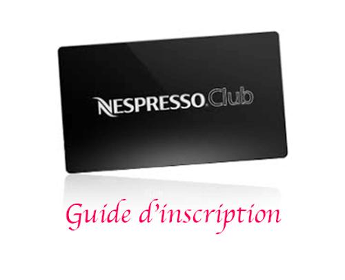 S'inscrire au club Nespresso