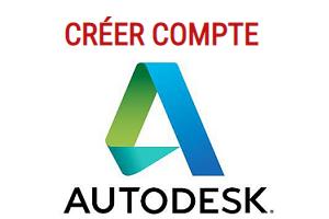 créer un compte autodesk