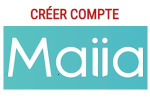 Créer un compte Maiia