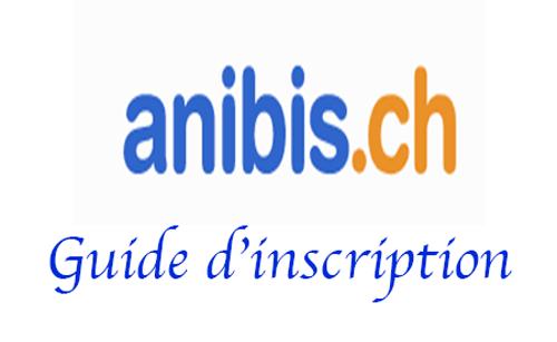 Créer un compte anibis