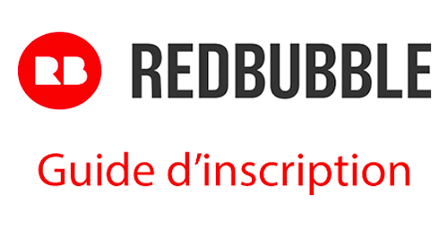 Créer un compte Redbubble