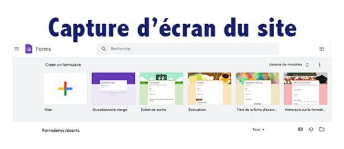Créer un formulaire questionnaire google forms