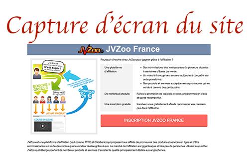 Créer un compte jvzoo en français