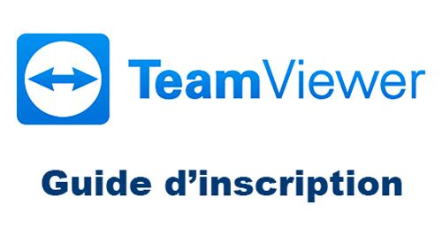 Créer un compte teamviewer