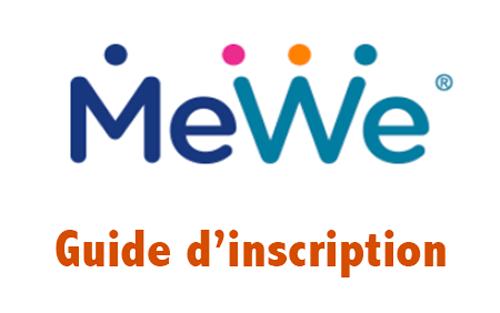 Créer un compte Mewe