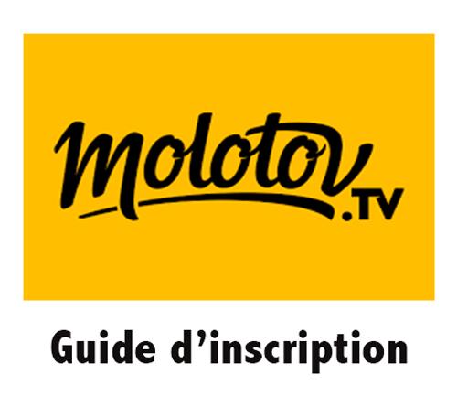 Ouvrir un compte Molotov tv