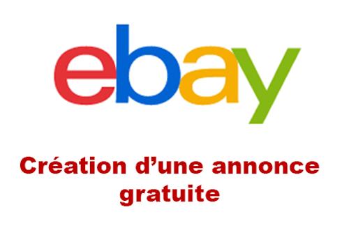 Annonce ebay gratuite
