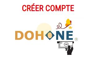Créer mon compte Dohone, accès et recharge en ligne