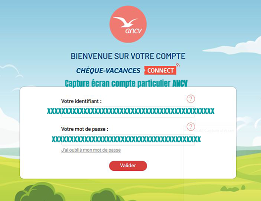 compte particulier cheque vacances