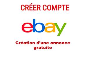 Déposer une annonce sur ebay gratuitement