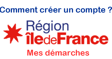 Créer un compte mesdemarches.iledefrance.fr