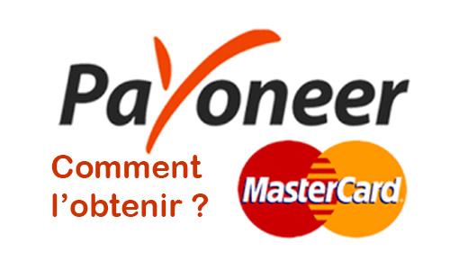Comment obtenir ma carte bancaire Payoneer ?