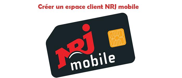 Créer un espace client NRJ mobile