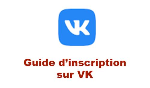 S'inscrire sur vk sans numéro de téléphone