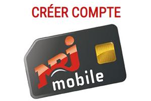 Ouvrir un compte NRJ mobile