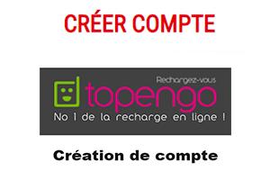 Ouvrir un compte topengo