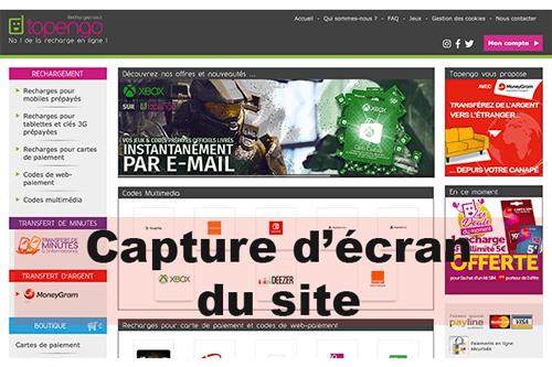 S'inscrire sur topengo.fr