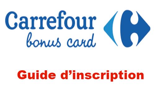 Carrefour bonus card se connecter