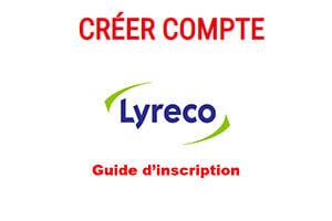 Créer un compte Lyreco