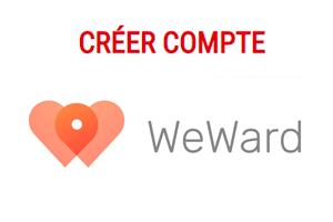 Weward inscription : Créer mon compte gratuit et gagner de l'argent en marchant