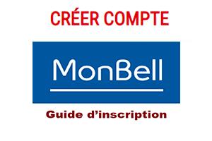 Inscription sur Application mon Bell