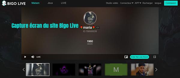 bigo-live inscription pc