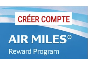 Ouvrir une session Air Miles